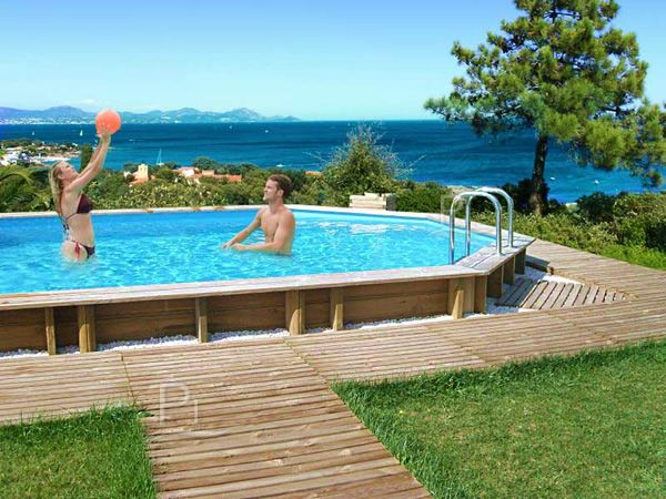 oltre 20 migliori idee su piscine fuori terra su pinterest