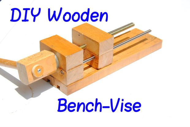 This guy's homemade wooden vise is insane!!! It's so easy to make and saves so much money!!!!!!