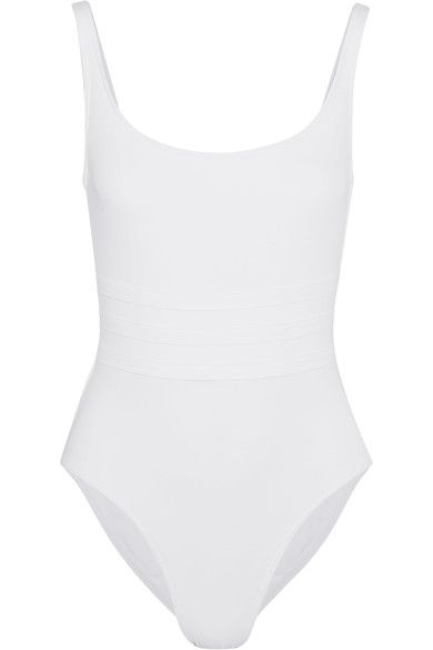 Eres white one piece bathing suit