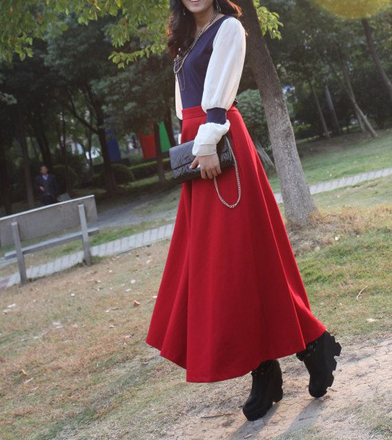 25  best ideas about Maxi skirt winter on Pinterest | Long skirt ...