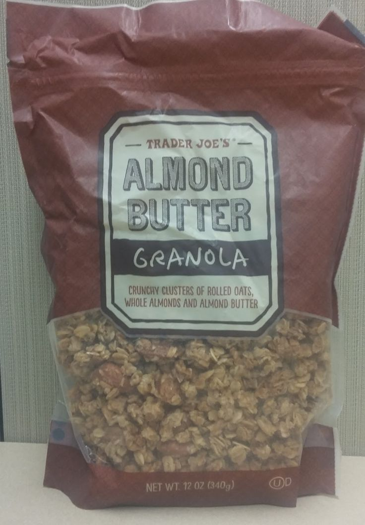 A review of Trader Joe's Almond Butter Granola