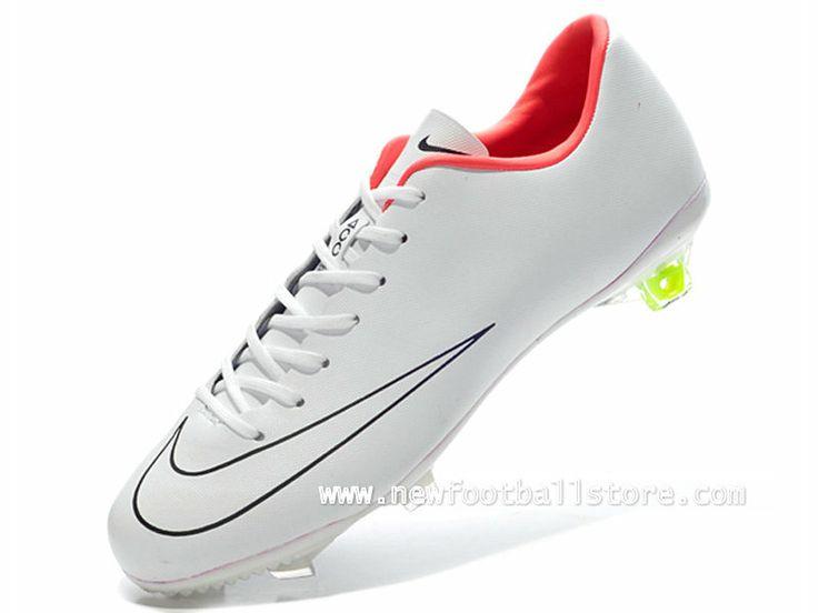 Nike Maillot de football Division II Noir Rouge