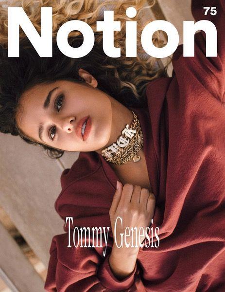 Tommy Genesis - Notion 75 Magazine Cover. Photographer: Justin Wilczynski