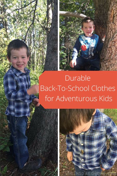 Durable Back-To-SchoolClothes for Adventurous Kids #CartersOshKoshPlaydate