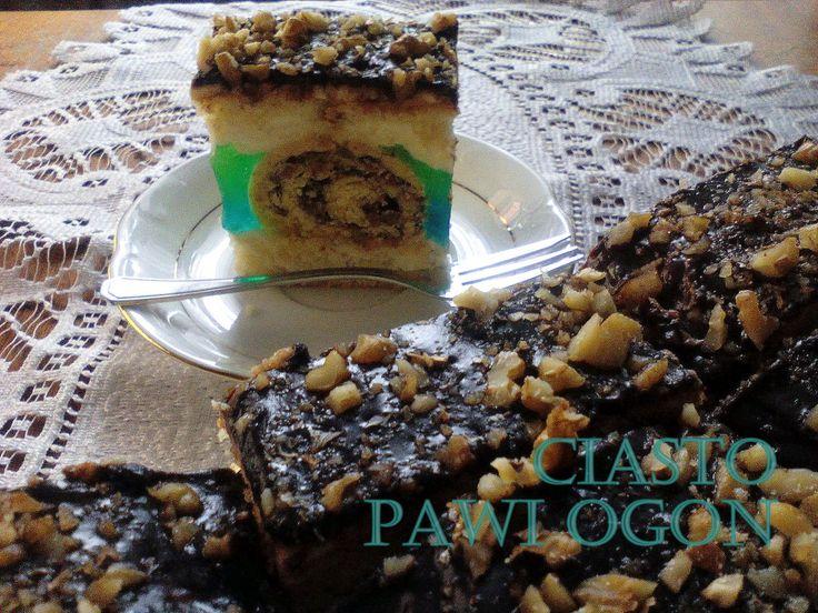 Ciasto Pawi Ogon (siostry Anastazji) PRZEPIS
