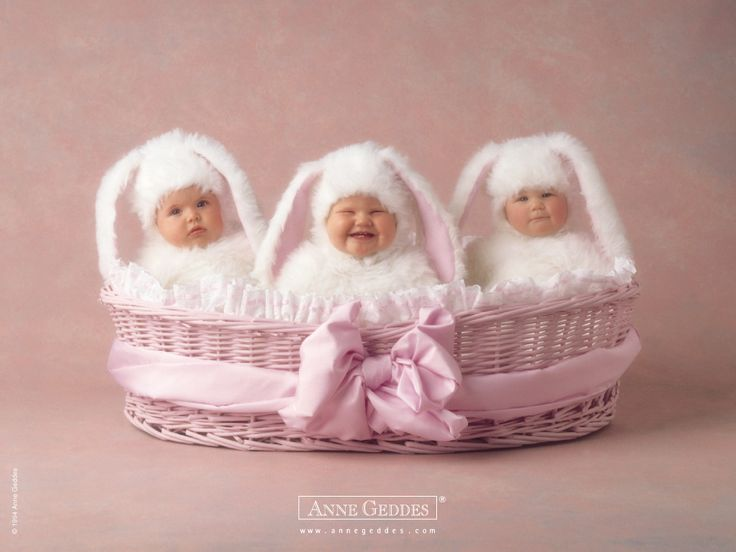 Easter by Anne: Anne Geddes, Annegeddes, Babies, Bunnies, Cute Babies, Happy Easter, Photography, Kid