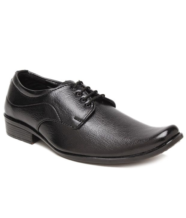 Foot 'n' Style Textured Black Derby  Shoes, http://www.snapdeal.com/product/foot-n-style-textured-black/1959594924