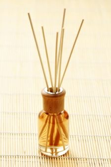 How to Make Your Own Reed Diffusers And Refill Oils With A Few Simple Ingredients -- 1/4 cup carrier oil (almond, safflower or mineral), 12 drops essential oil for scent, and a splash of vodka or rubbing alcohol.