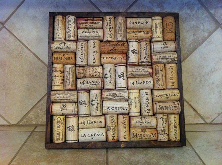 wine kitchen decor | Wine Cork Trivet Kitchen Decor Hot Pad by lilykayy on Etsy
