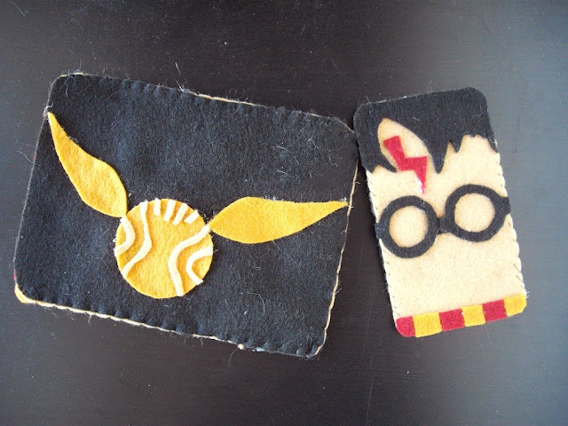 DIY Harry Potter iPhone cover