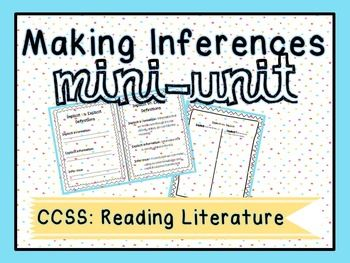 """Making Inferences :: This is a  differentiated & Common Core aligned mini-unit that reviews making inferences with upper elementary/middle school students! It also introduces the vocabulary terms """"explicit"""" and """"implicit"""" information.Included in this pack:- Teaching Guide- List of partner resources/texts- Implicit, Explicit, & Inference definition sheets- Implicit vs."""