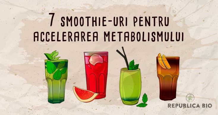 7 retete de bauturi, freshuri si smoothieuri care-ti accelereaza metabolismul – Republica BIO