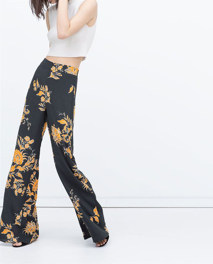 LOOSE-FIT TROUSERS-IT'S DRESS UP TIME | ZARA United States