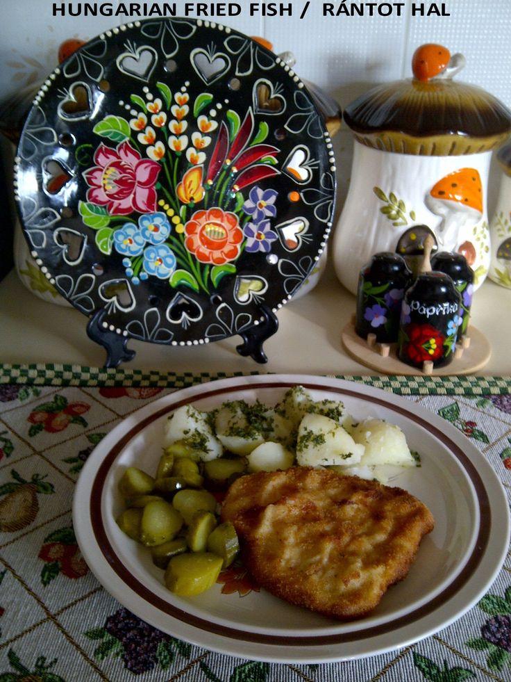 HUNGARIAN FRIED FISH / RÁNTOT HAL (+lejátszási lista)
