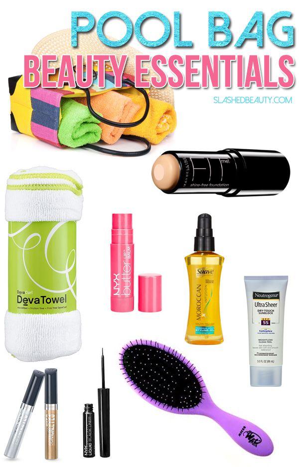 Makeup Bag Essentials For Travel