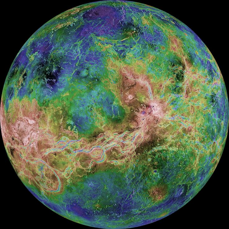 Planet Venus in the Solar System - The Official www.SolarSystem.com