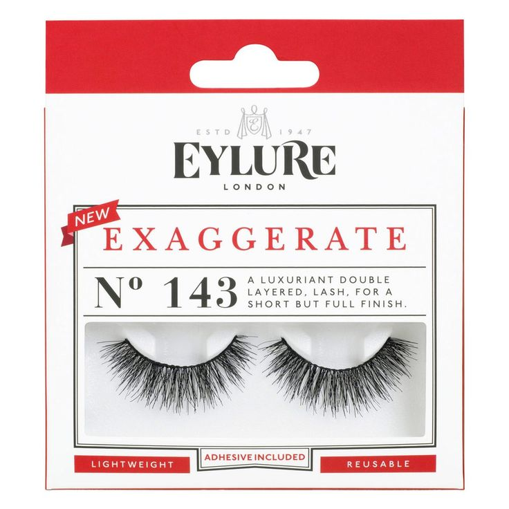Eylure Exaggerate 143 Lashes 1 Pair