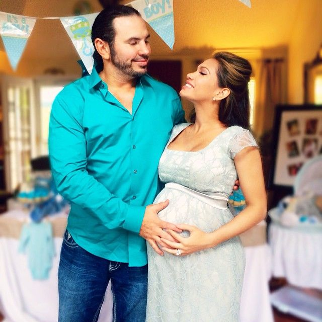 """""""What a beautiful day at my gorgeous wife's #BabyShower - Thanks to all of the family & friends that attended.. I greatly appreciate your support & generosity from today."""" - Former WWE Superstar Matt Hardy and his pregnant wife Rebecca Reyes-Hardy (Reby Sky)"""