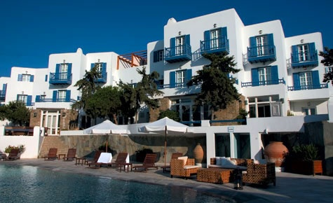 Hotel Posiedon: Girls, we need to stay here while in Mykonos!