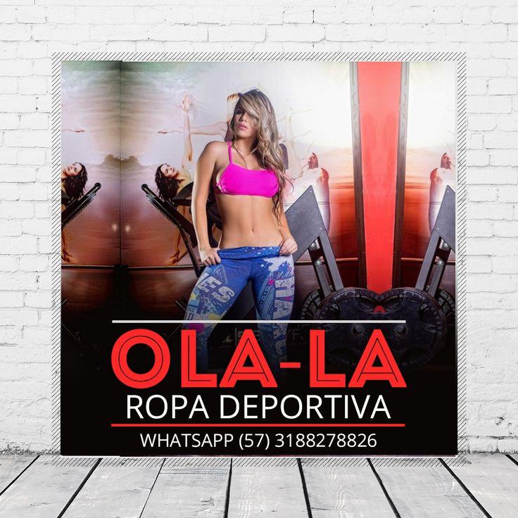 Visita nuestra tienda Online www.ola-laropadeportiva.com y conoce nuestros las diferentes colecciones que tenemos para ti…  Pedidos Whatsapp: (+57) 318 8278826 de 9AM a 6PM.  Diseños únicos y exclusivos, elaborados con telas inteligentes con los estándares de la más alta calidad. Ventas al por mayor y al detal… ¡Envíos a toda Colombia y el exterior!  #RopaDeportivaMujer #training #bodybuilder #SportsWear #Fitness #blusas #enterizos #leggiscolombia