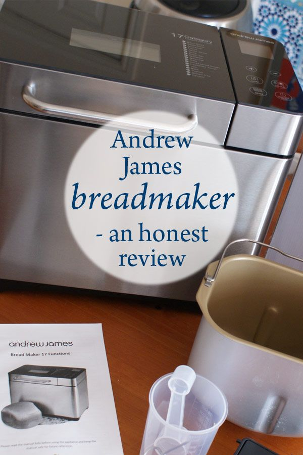 Andrew James breadmaker review http://bit.ly/2dl0xHA
