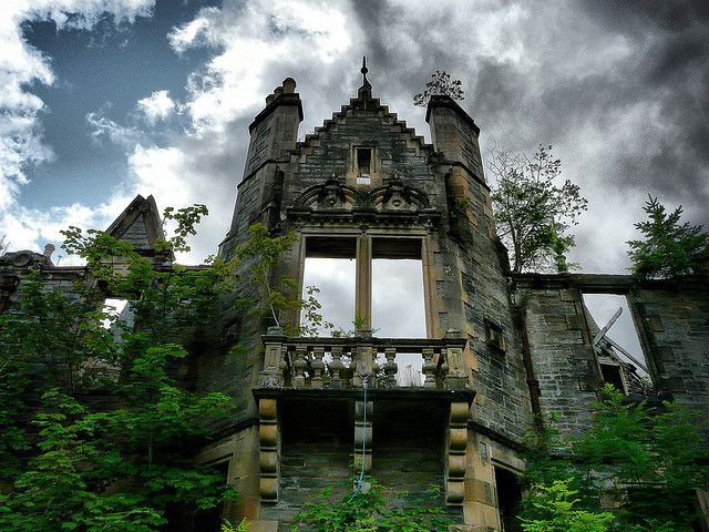 10 Abandoned Manor Houses and Baronial Mansions of Scotland