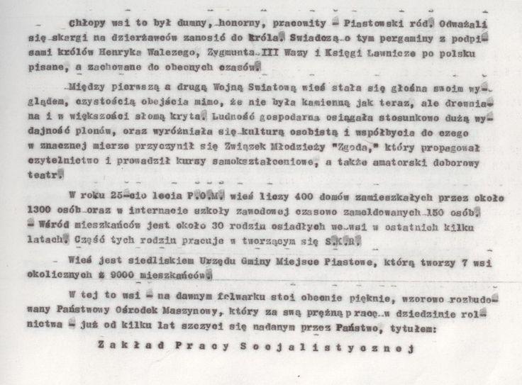 Z kroniki POM 4 (kopia maszynopisu)