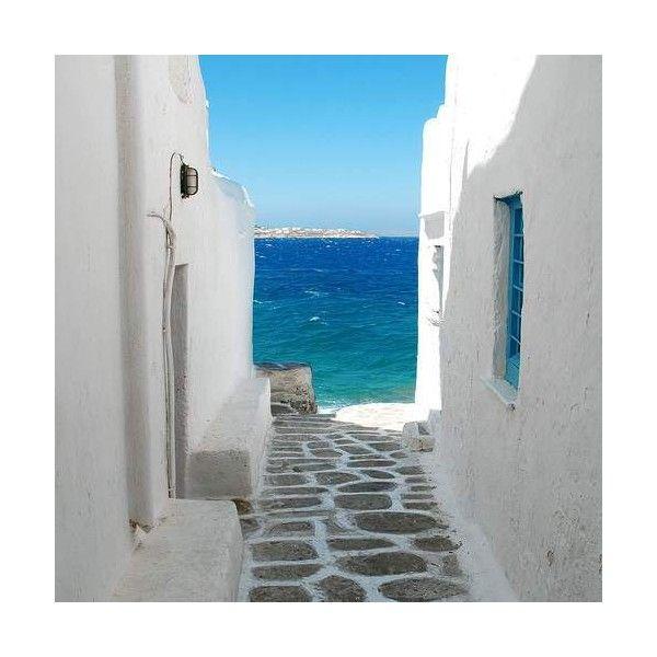 Greek Islands Artsy Time ❤ liked on Polyvore