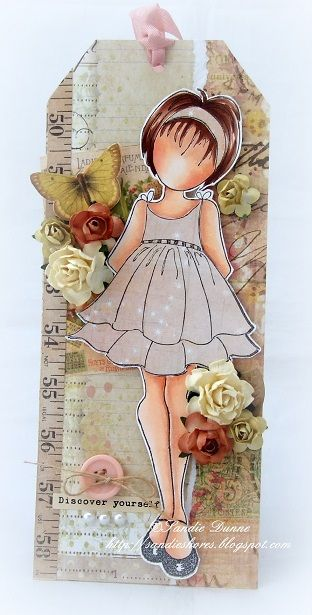 Discover Yourself. Wendy Schultz - Prima Doll Stamps.
