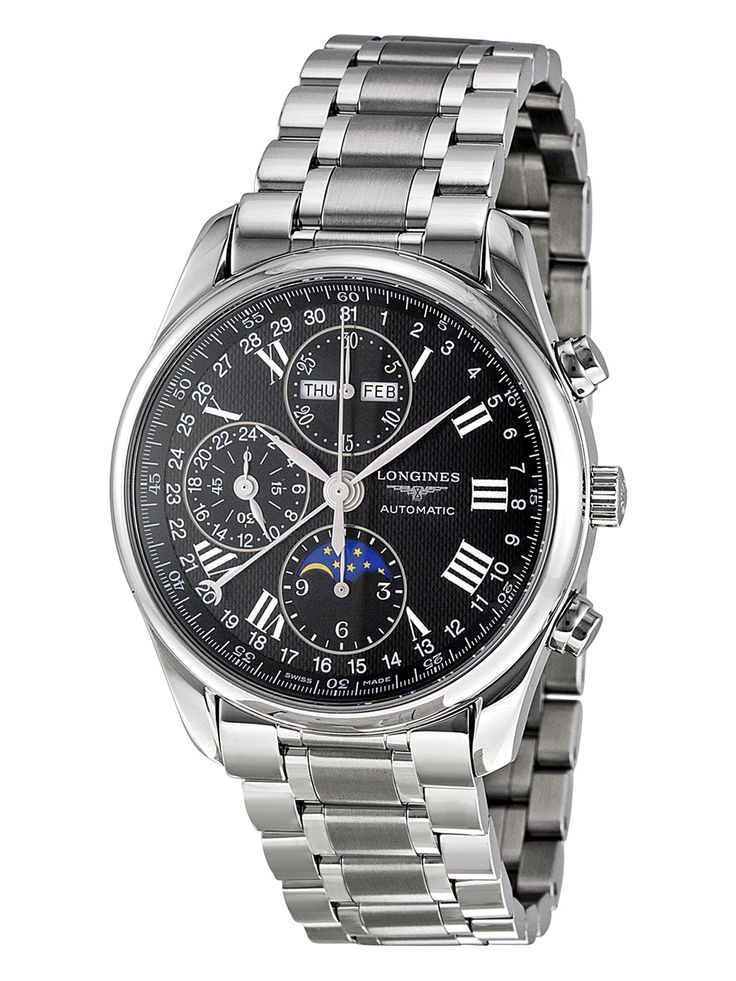Longines Master Stainless Steel Watch, 40 mm NZ$5,799.30 Gilt (incl. Duties and GST)
