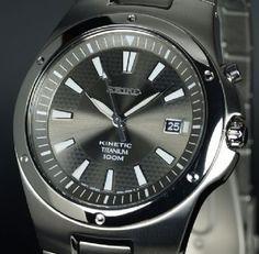 Seiko Kinetic 100Mtr Full Titanium SKA397P1