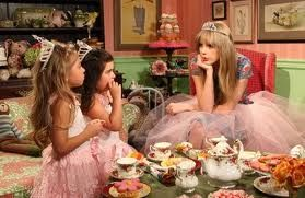 Tea time with Sophia Grace and Rosie.  The Ellen Show. So cute. Go to youtube and watch the video :)