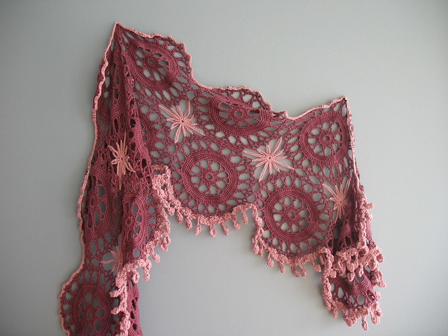 Crochet scarf Easy Neck Scarves Crochet