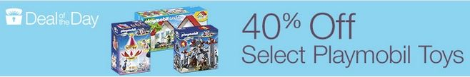 40% Off Playmobil Toys **Today Only** - http://www.swaggrabber.com/?p=283891