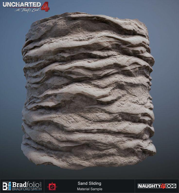 ArtStation - Uncharted 4 | Dive | Terrain Materials, Bradford Smith