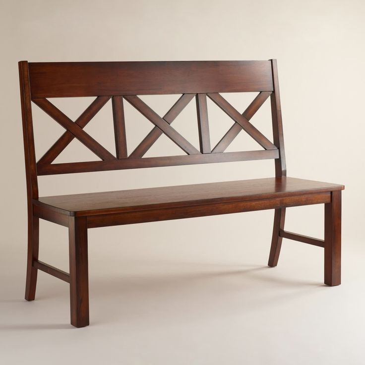 Dining Room Bench With Back: Best 25+ Dining Bench With Back Ideas On Pinterest