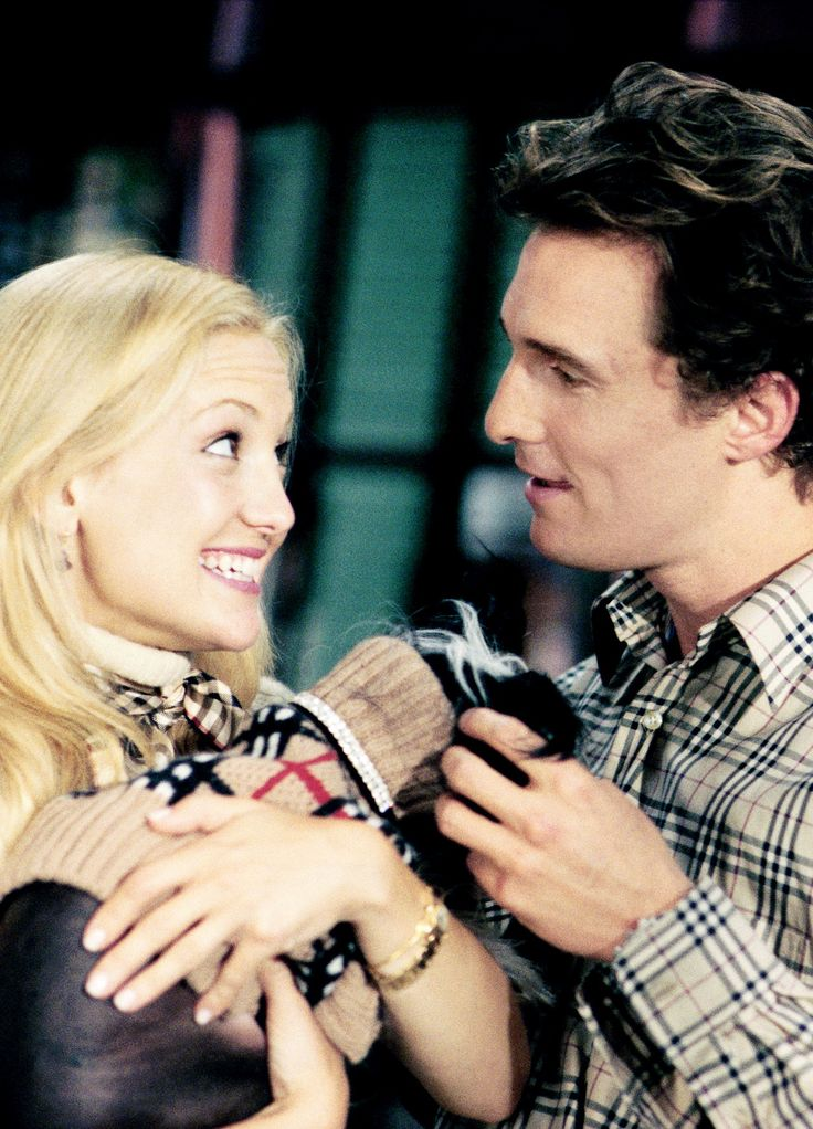 Kate Hudson and Matthew McConaughey in How to Lose a Guy in 10 Days, 2003