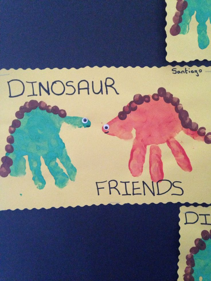 crafts ideas for teenagers handprint dinosaurs crafts crafts 4145