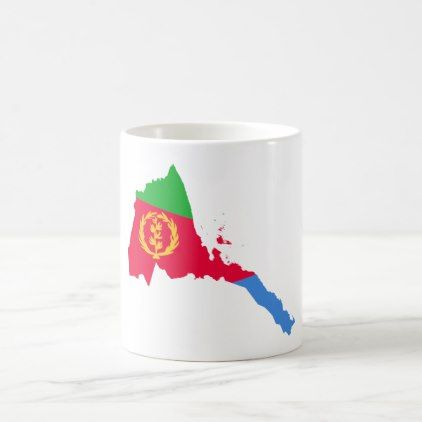 Eritrean Flag White 11 oz Classic Mug - classic gifts gift ideas diy custom unique