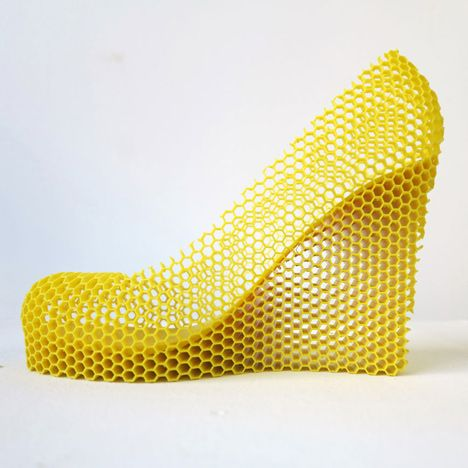 Designer 3D-prints shoes representing 12 of his lovers. Click through and look. Really.