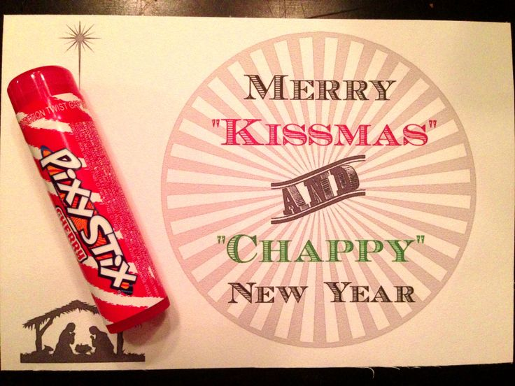Merry Kissmas and Chappy New Year | Christmas Crafts for ...