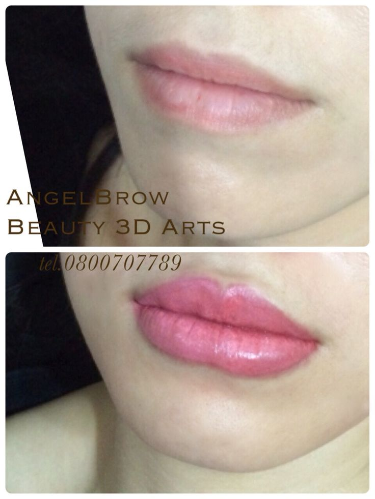 Permanent Lip Colors tattoo technic more dimension is more than perfection