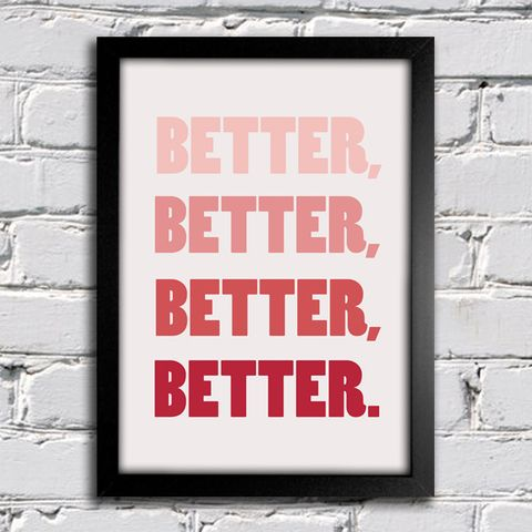 Poster Beatles Hey Jude Better Better Better Better