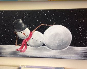 Popular items for whimsical snowman on Etsy