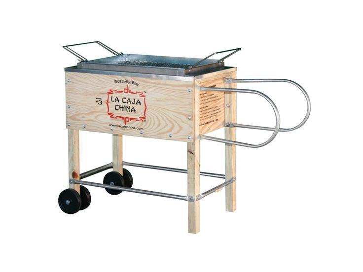 La Caja China small roasting box