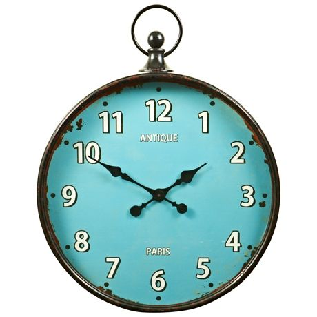 Paris Fob Watch Clock 60cm | Freedom Furniture and Homewares