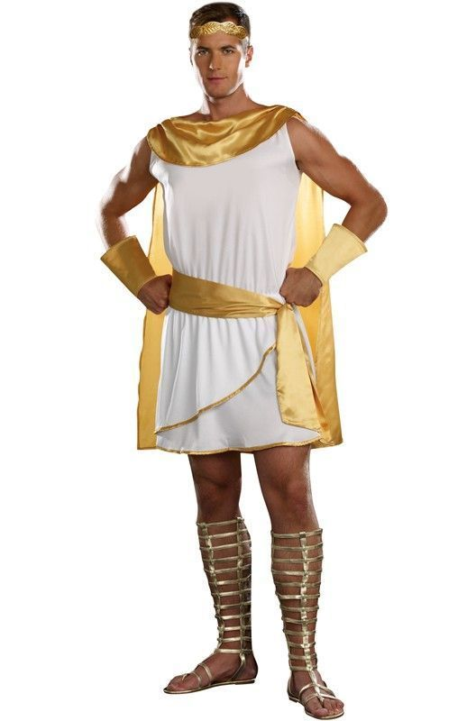 man hermes costume | Apollo Greek God Costume: Greek God ...
