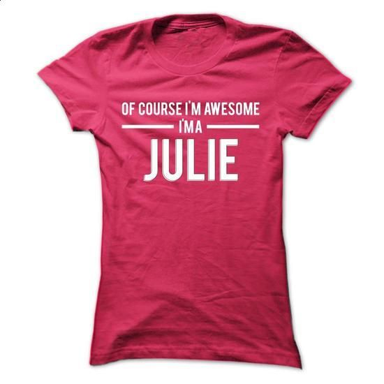 Team Julie - Limited Edition - #cheap tees #cotton shirts. ORDER NOW => https://www.sunfrog.com/Names/Team-Julie--Limited-Edition-uhcoxxlqln-Ladies.html?60505