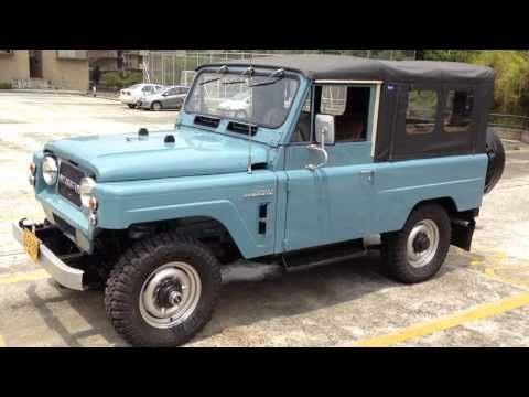 Video walk around of our rare-to-the-US 1979 Nissan Patrol LG-60.
