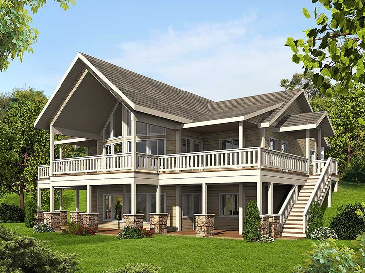 Mountain House Plan With Up To Four Bedrooms   35511GH | Mountain,  Vacation, Metric